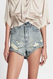 One Teaspoon Blue Storm Short - Front cropped