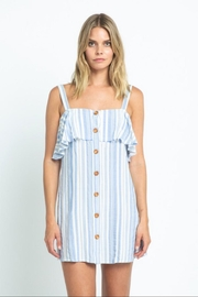 skylar madison Blue Stripe Dress - Product Mini Image