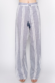 lunik Blue Stripe Pants - Product Mini Image