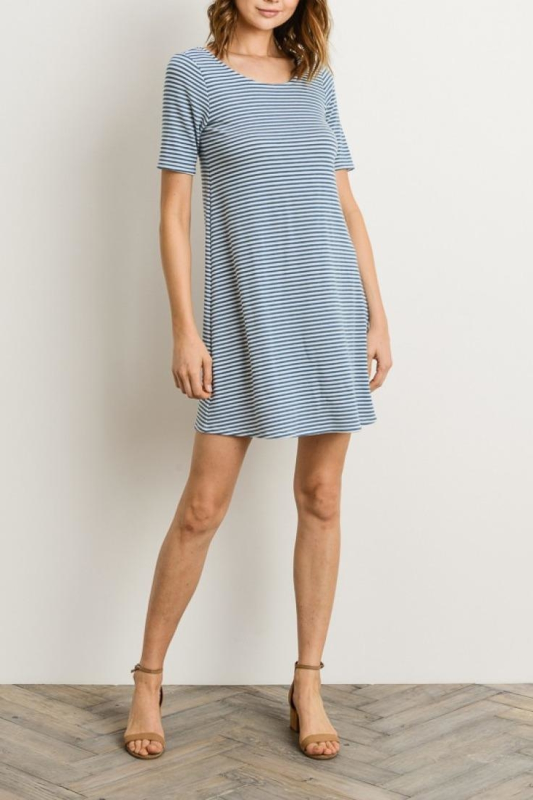 1a6e67c299 Gilli Blue Striped Dress from Illinois by The Colette Collection ...