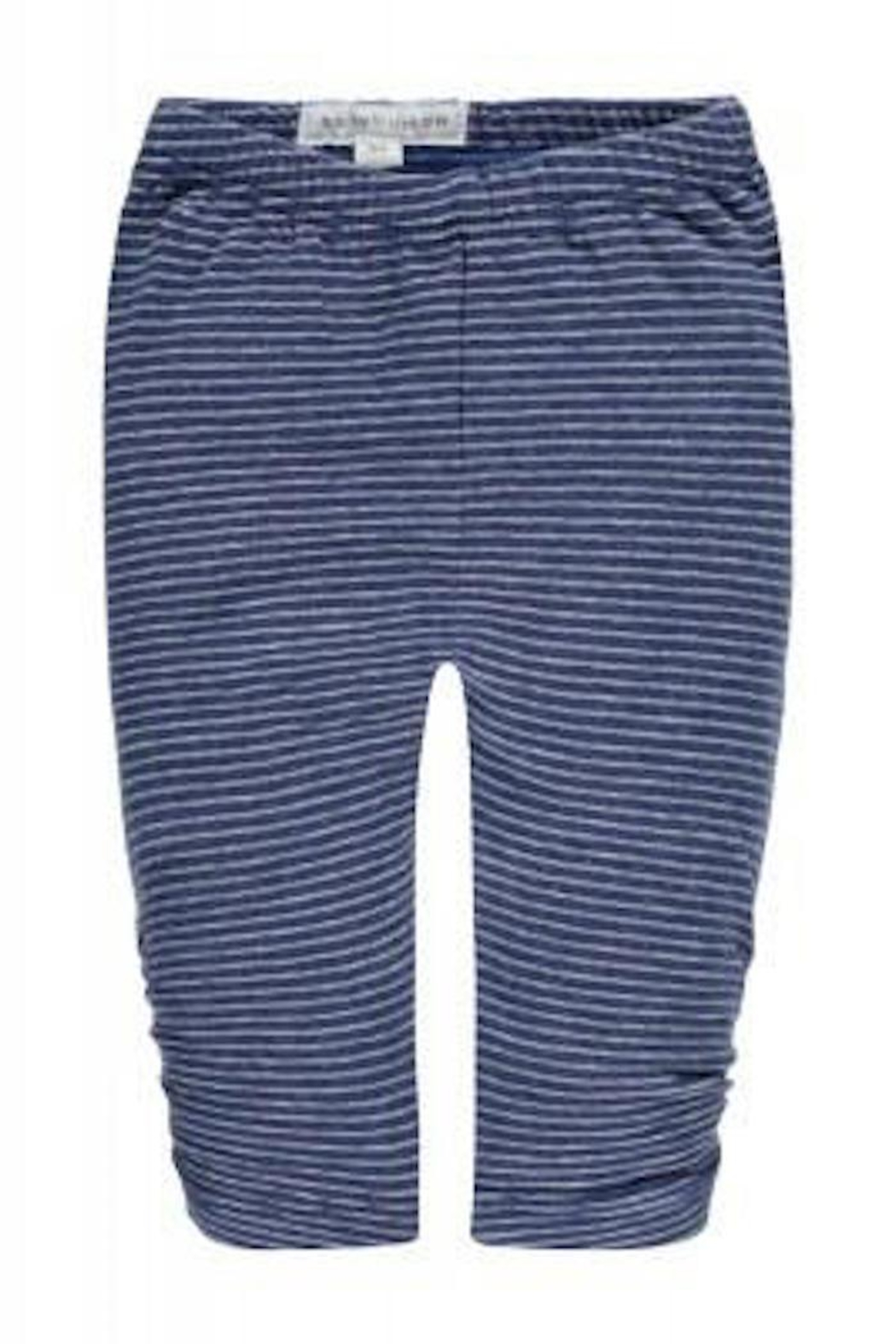 Belly Button Blue Striped Leggings - Main Image