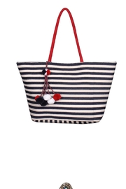 America & Beyond Blue Striped Tote - Product Mini Image