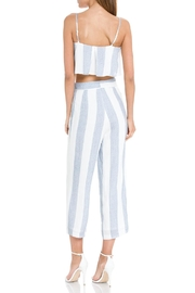 After Market Blue Striped Two-Piece-Set - Front full body