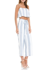 After Market Blue Striped Two-Piece-Set - Back cropped