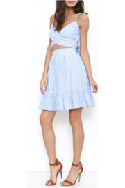 L'atiste Blue Stripped Skirt Set - Product Mini Image