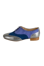 Pascucci Blue Suede Brogue - Product Mini Image