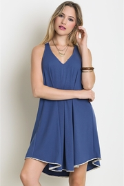 People Outfitter Blue Swing Dress - Product Mini Image