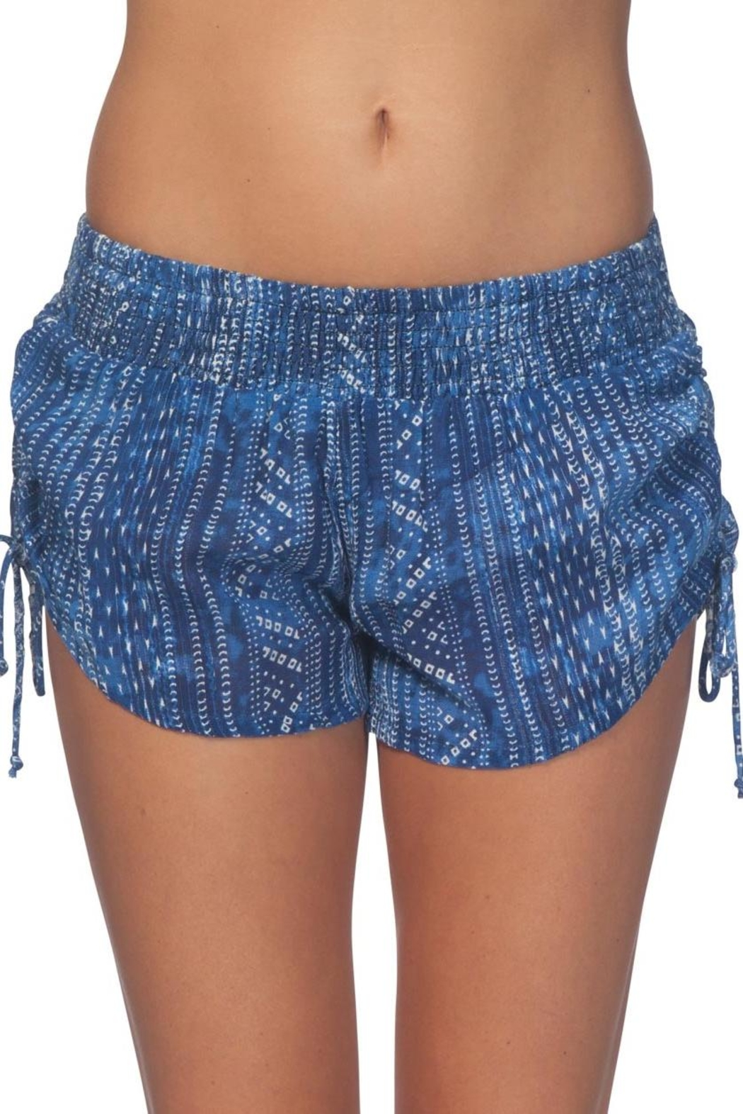 Rip Curl Blue Tides Shorts - Front Full Image