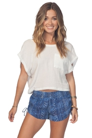 Rip Curl Blue Tides Shorts - Front cropped