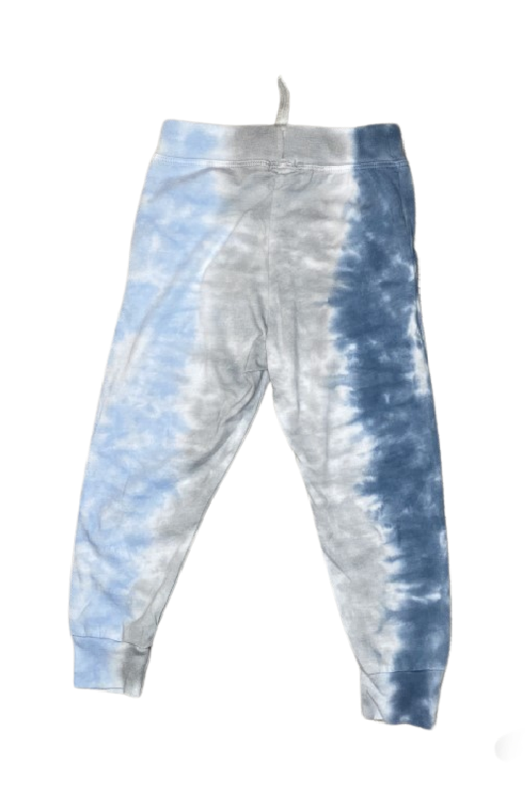 Cozii Blue Tie Dye Jersey Pant - Front Full Image