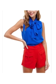 TCEC Blue Tie Top - Product Mini Image