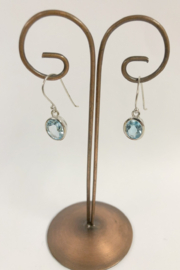 ACleoni Blue Topaz Earring - Product Mini Image