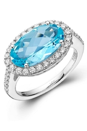 Lafonn Blue Topaz Ring - Product Mini Image
