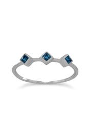 Wild Lilies Jewelry  Blue Topaz Ring - Product Mini Image
