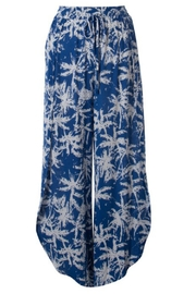 Illa Illa Blue Tropical Pants - Product Mini Image