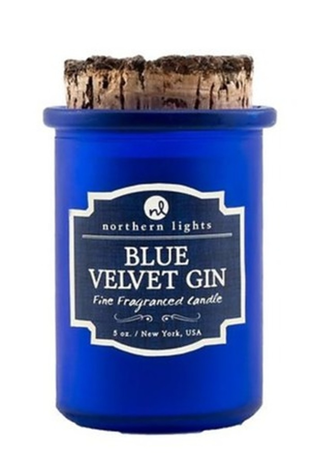 Phinas Blue Velvet Gin Candle - Front Cropped Image