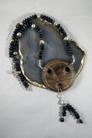 Silver Serpent Studio Blue Walnut Necklace - Product Mini Image
