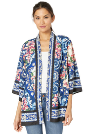 Tribal  Blue Wave Kimono - Product Mini Image