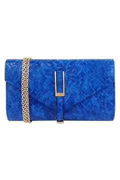 Wild Lilies Jewelry  Blue Weave Clutch - Product List Image
