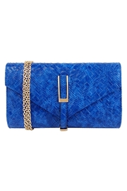 Wild Lilies Jewelry  Blue Weave Clutch - Product Mini Image