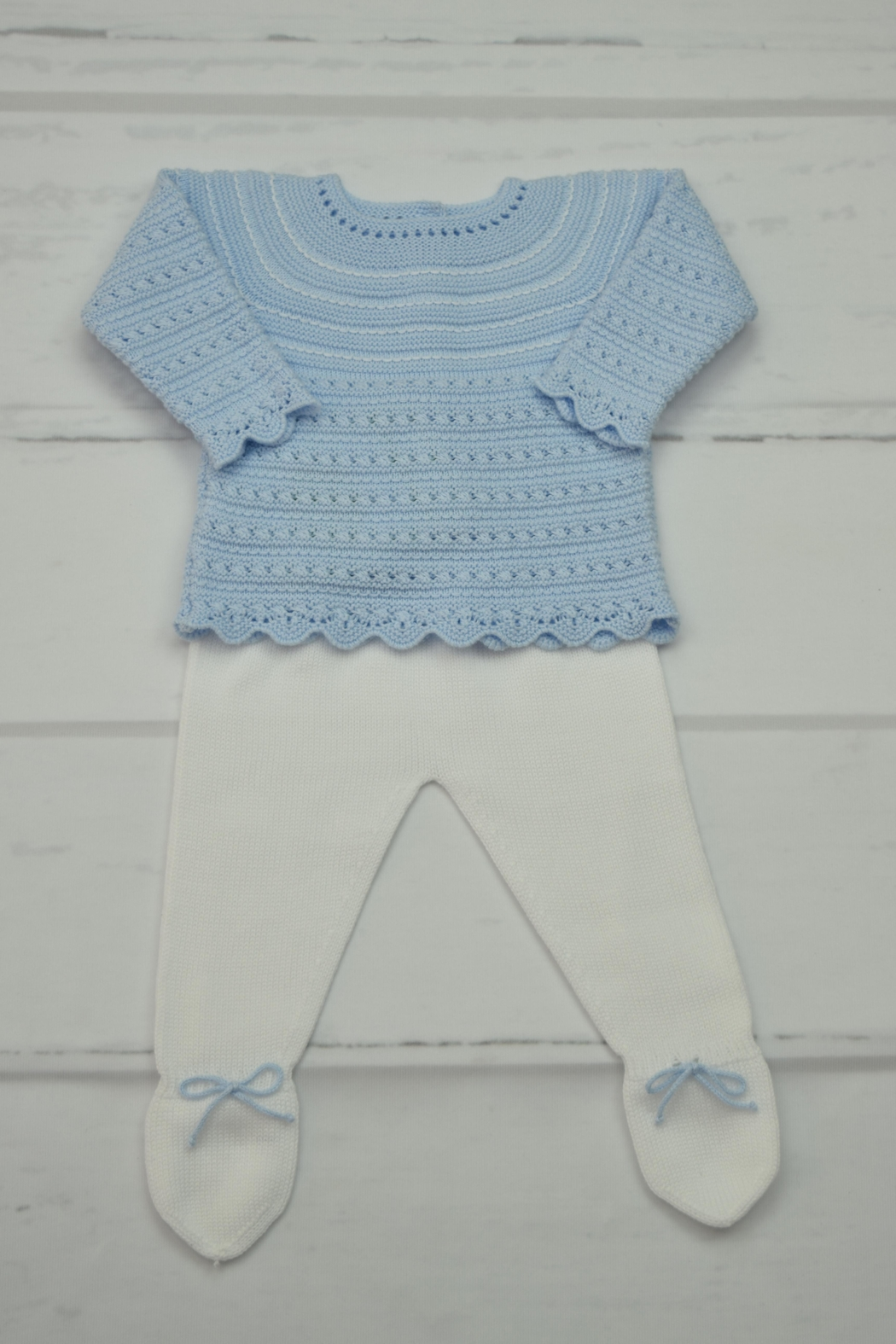 Granlei 1980 Blue & White Newborn - Front Cropped Image
