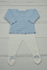 Granlei 1980 Blue & White Newborn - Front cropped