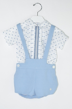 Shoptiques Product: Blue & White Outfit