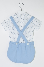 Dolce Petit Blue & White Outfit - Side cropped