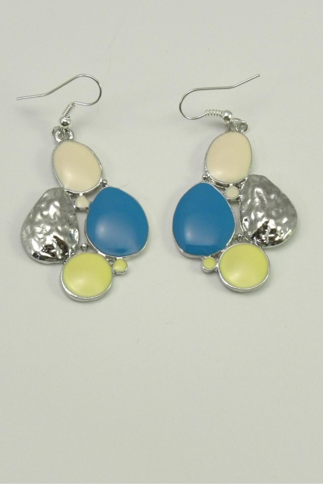 Mimi's Gift Gallery Blue Yellow Necklace Set - Front Full Image