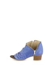 Unity.In.Diversity Blue Zip Bootie - Front cropped