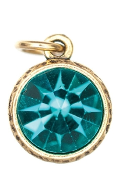 Beaucoup Designs Blue Zircon Charm - Alternate List Image