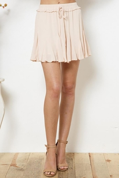 Blue B Ruffles Skirt With Loose Shorts Lining - Product List Image