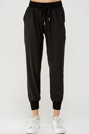 blue blush Black Jogger Pants - Product Mini Image