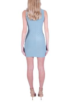 Shoptiques Product: Blue Cross-Front Dress