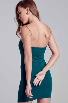 blue blush Bodycon Slit Dress - Alternate List Image