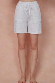 blue blush Cargo Sweat Shorts - Product Mini Image