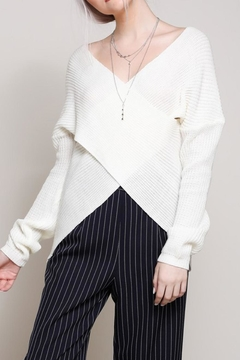Shoptiques Product: Crossover Sweater