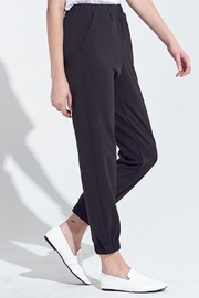 blue blush Elastic Waist Joggers - Front full body