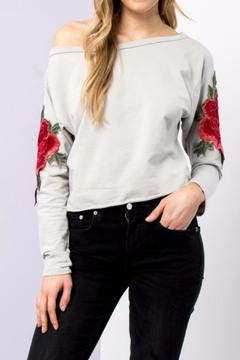 Shoptiques Product: Embroidered Patch Top