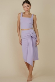 blue blush Midi Skirt Set - Product Mini Image