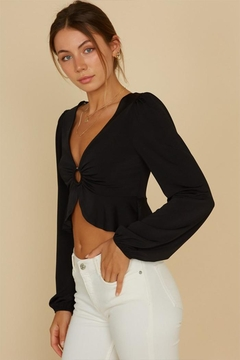 Shoptiques Product: O-Ring Crop Blouse