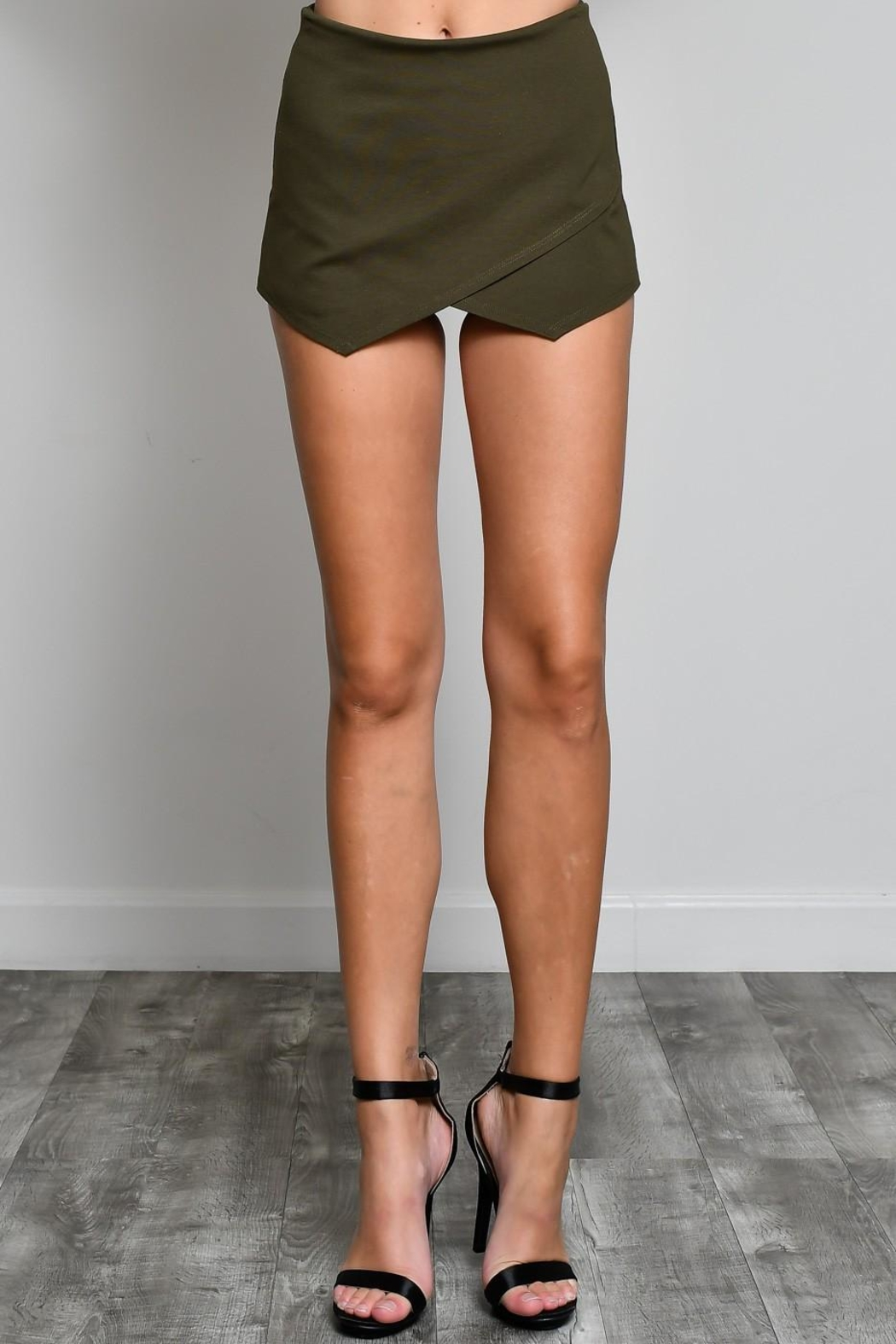 blue blush Olive Envelope Skort - Main Image