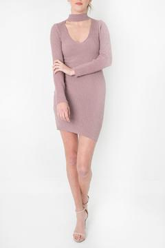 Shoptiques Product: Pink Choker Dress