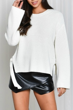 Shoptiques Product: Side Tie Sweater