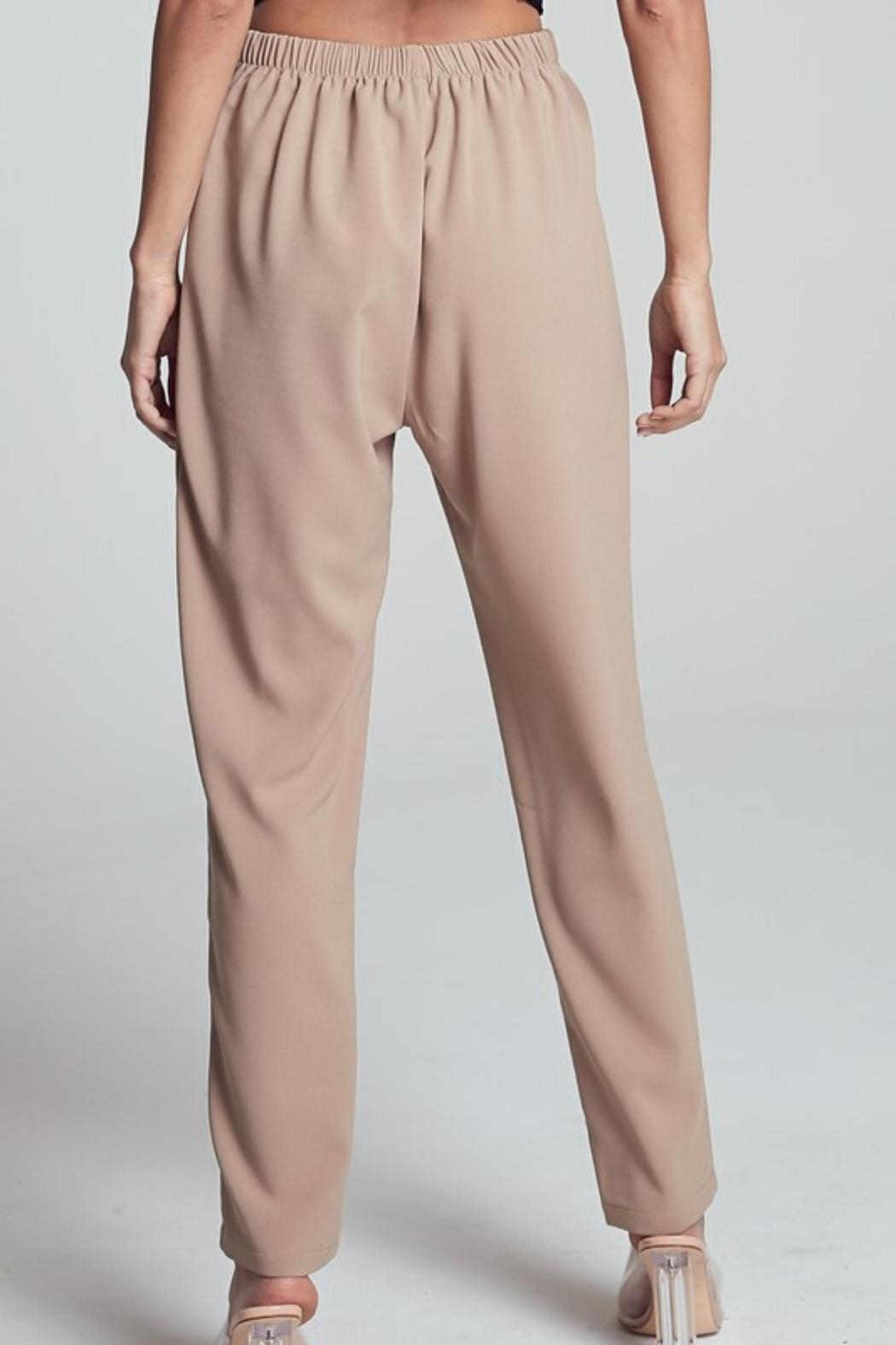 blue blush Straight-Leg Pant - Side Cropped Image