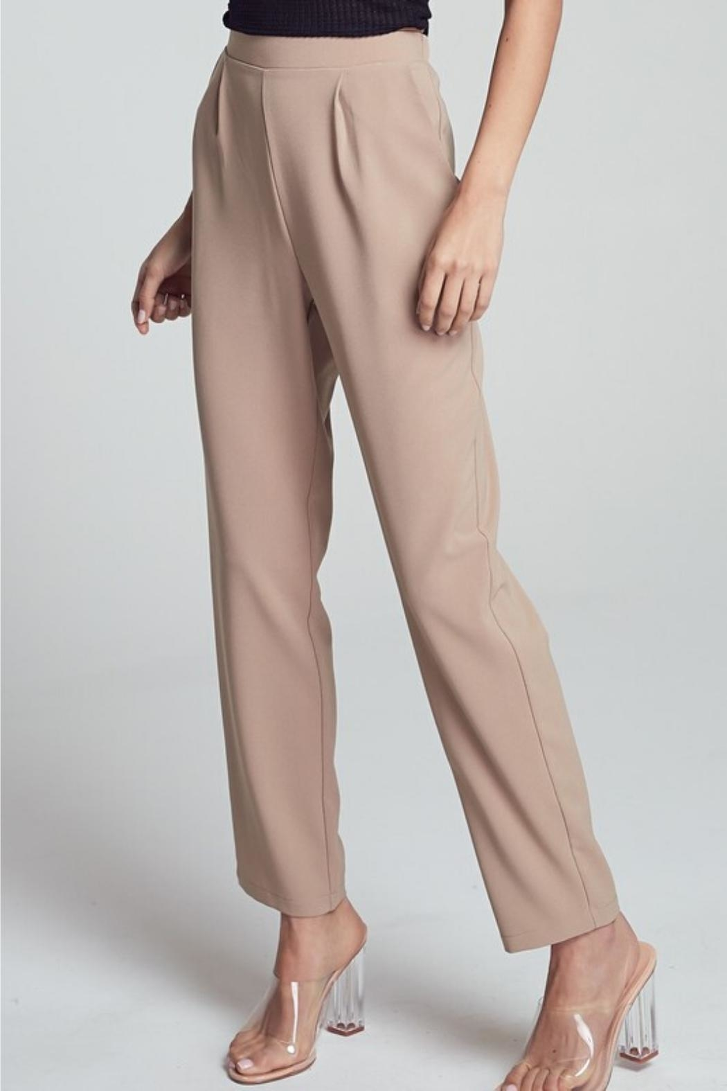 blue blush Straight-Leg Pant - Front Full Image