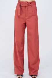 blue blush Straight Leg Pants - Product Mini Image