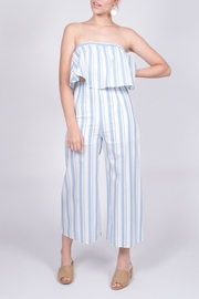 blue blush Striped Strapless Set - Product Mini Image