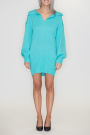 blue blush Sweater Dress - Product Mini Image