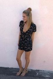 blue blush Take-Me-Out Tonight Playsuit - Side cropped